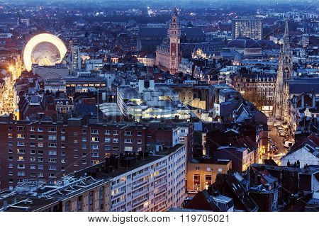 Aerial View Of Lille