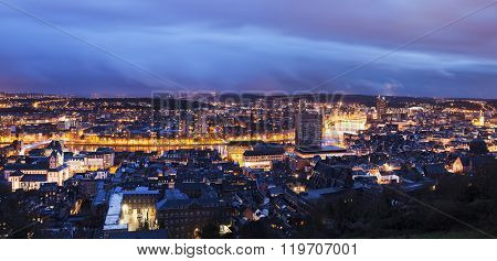 Panorama Of Liege