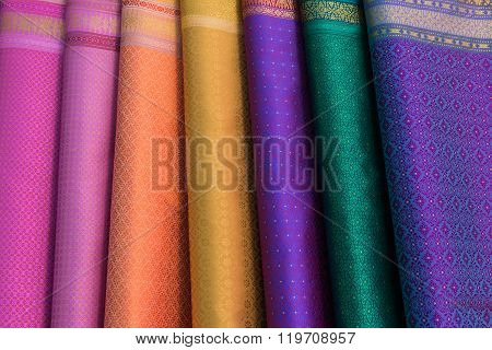 Colorful Of Thai Silk
