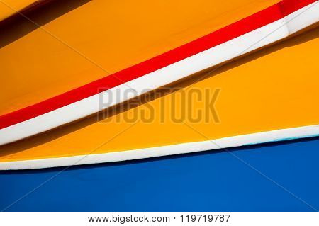 Colours Of The Maltese Dghajsa