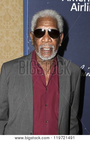 LOS ANGELES - FEB 25:  Morgan Freeman at the 3rd Annual unite4:humanity at the Montage Hotel on February 25, 2016 in Beverly Hills, CA