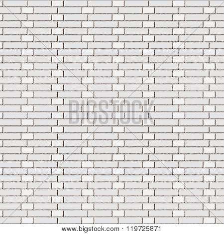 The vector brick wall - stretcher bond
