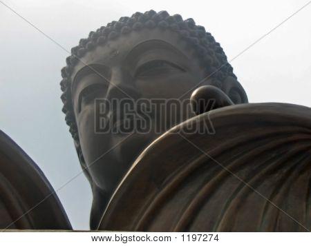 Big Buddha In Lantau Island