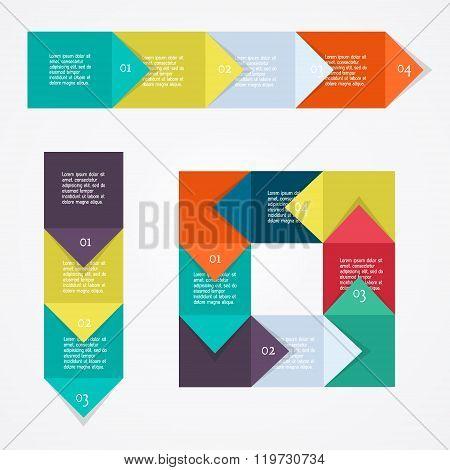 Process Chart Module. Vector Illustration.