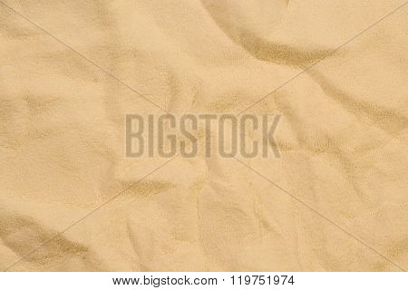 Beige chamois leather