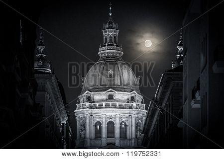 Stephen Basilica In Budapest, Hungary, Europe.