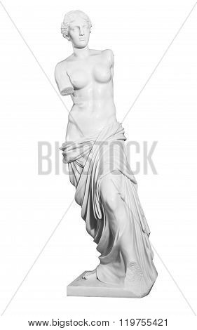 Gypsum Statue Of A Woman
