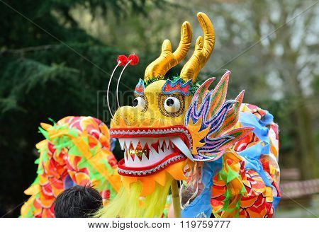 Holiday Decorative Chinese Dragon