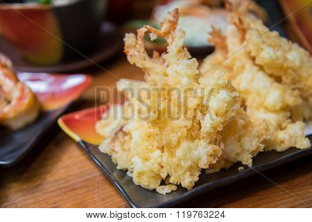 Deep Fried Shrimp , Tempura