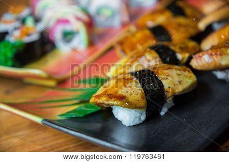 Griled Foie Gras Sushi