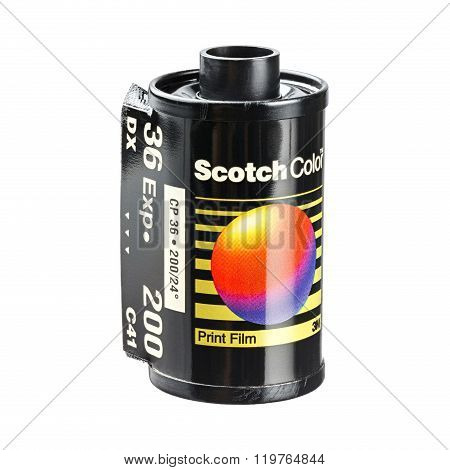 Scoth Color Print Film Cartridge