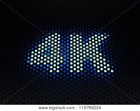 4K pictogram (UHDTV)