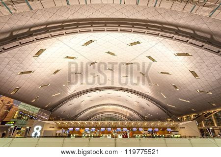 Hamad International Airport In Doha