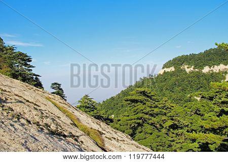 Huashan Mountain, Xian, China