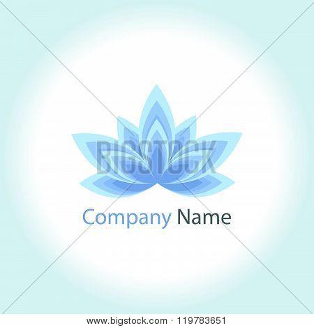 Icon logo flower beauty