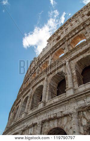 Bottom View Of Colosseum