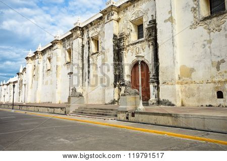 The Cathedral Of Leon In Nicaragua Is The Largest In Central America
