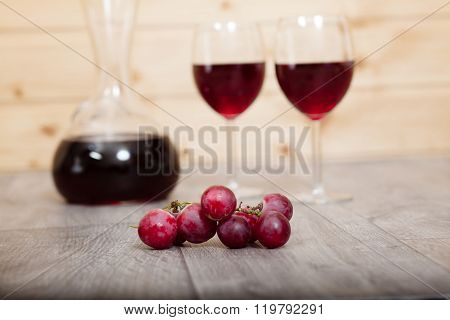 Still Life - Red Wine.