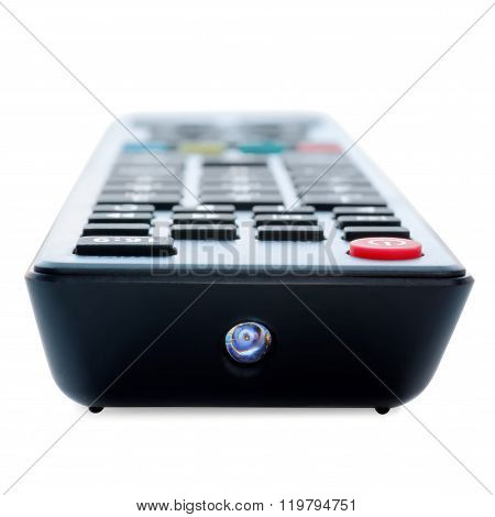 One-point View Of Tv Remote Control