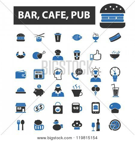 bar icons, bar logo, bar vector, bar flat illustration concept, bar infographics, bar symbols,