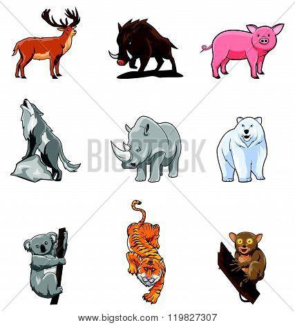 Animals Set Collection