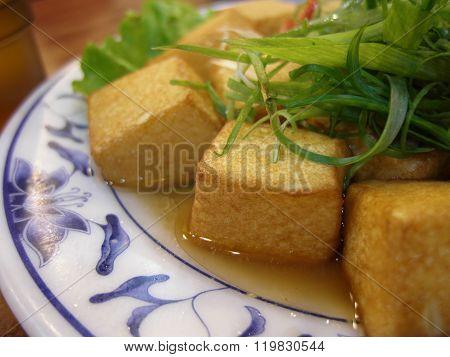 Delicious Egg Fu-yung Tofu