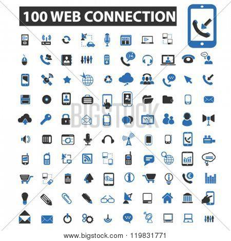 web connection icons, web connection logo, web connection vector, web connection flat illustration concept, web connection infographics, web connection symbols,