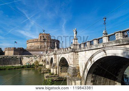 Castel Sant'agnelo View