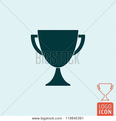 Trophy Icon Isolated