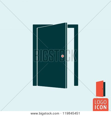 Door Icon Isolated