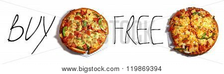 Pizza Buy One Get One Free