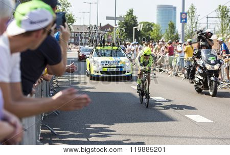 The Cyclist Michael Rogers - Tour De France 2015