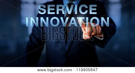 Manager Pressing Service Innovation