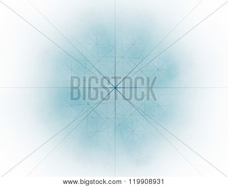 Abstract swirly texture motion background seamless looping fractal