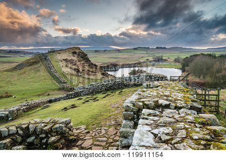 Milecastle 42 On Hadrian's Wall
