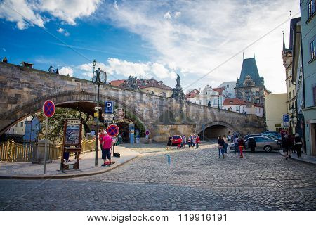 Prague old city
