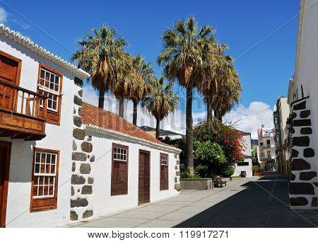 Los Llanos de Aridane - beautiful city on the island La Palma, Canary Islands, Spain