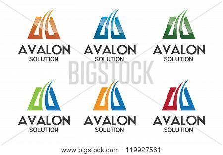 Business Corporate Letter A Logo Design Template. Simple And Clean Design Of Letter A Logo Vector. L