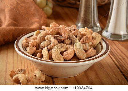 Cashews Close Up