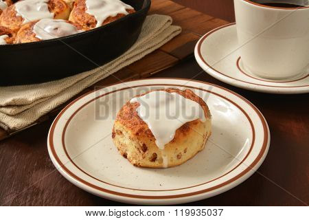 Hot Cinnamon Roll