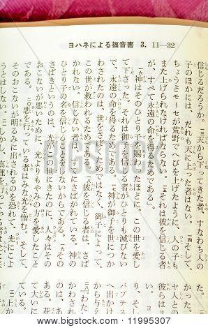 John 3:16 Japanese