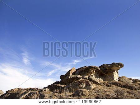 Badlands Alberta  Hoo Doo
