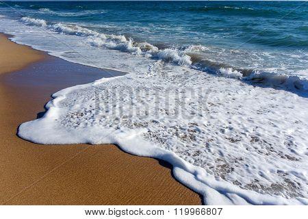 White Soapy Sea Suds