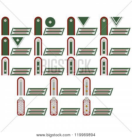 Insignia artillery troops of the Wehrmacht
