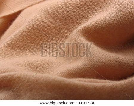 Folds Of Pashmina Wool