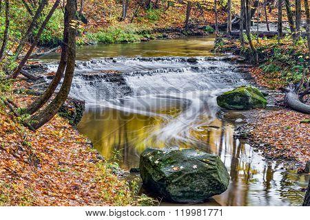 Deer Lick Creek Waterfall
