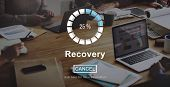 Recovery Crisis Processing Loading Icon Concept poster