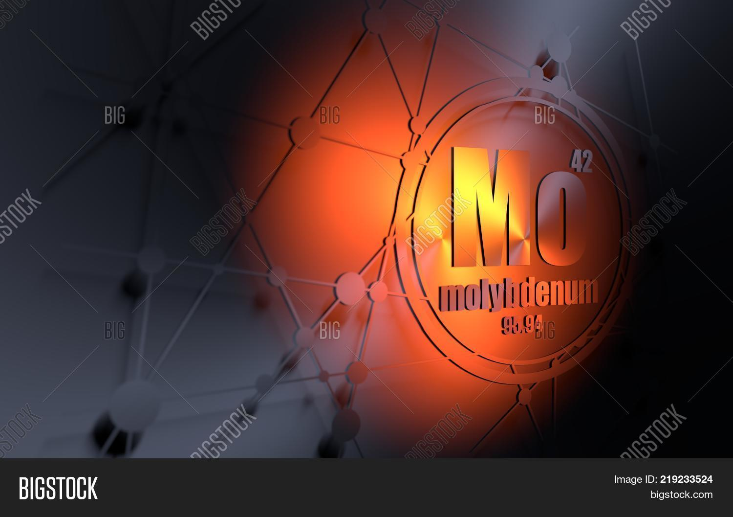 Molybdenum Chemical Image Photo Free Trial Bigstock