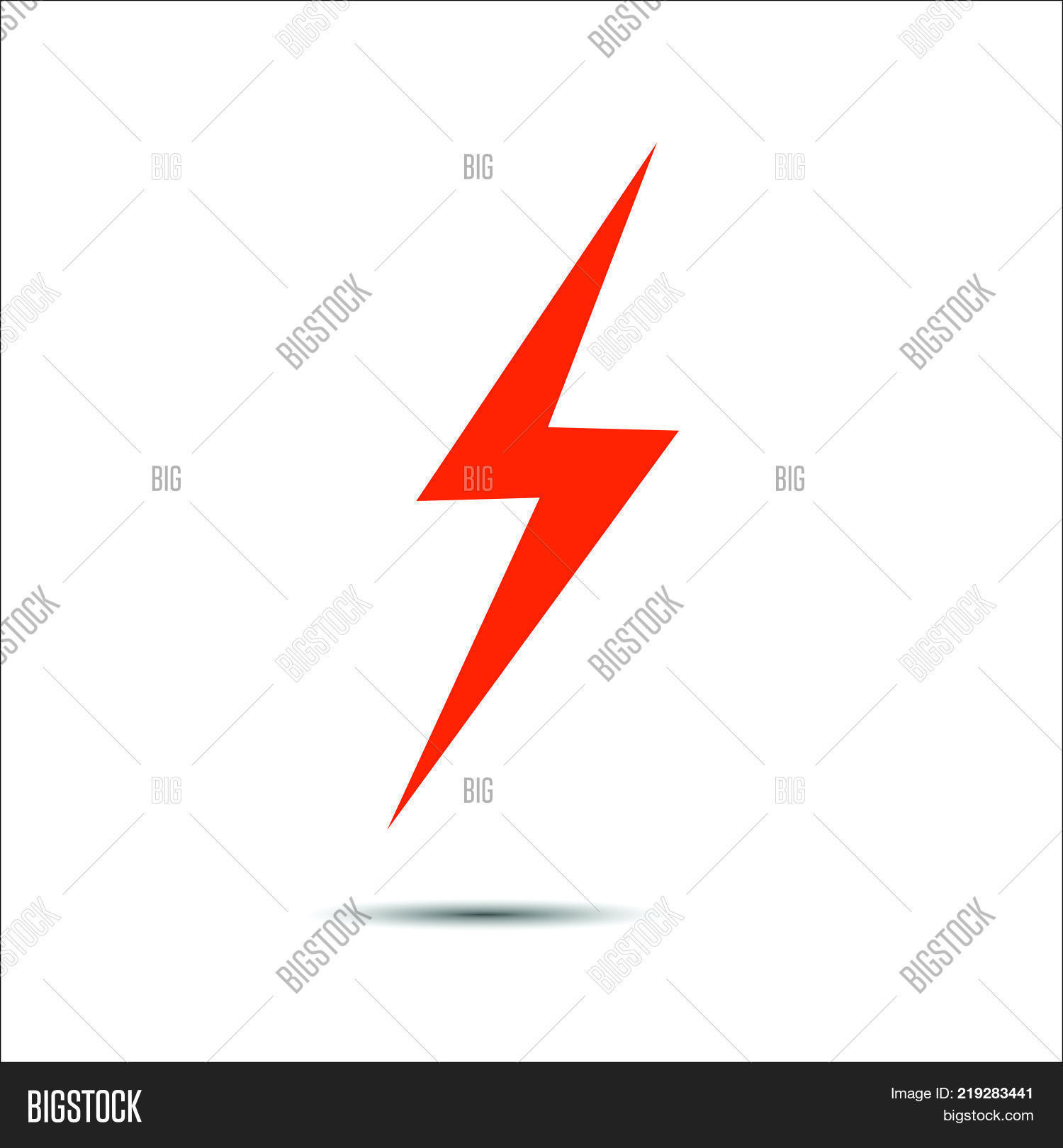Lightning Flat Icons Vector & Photo (Free Trial) | Bigstock