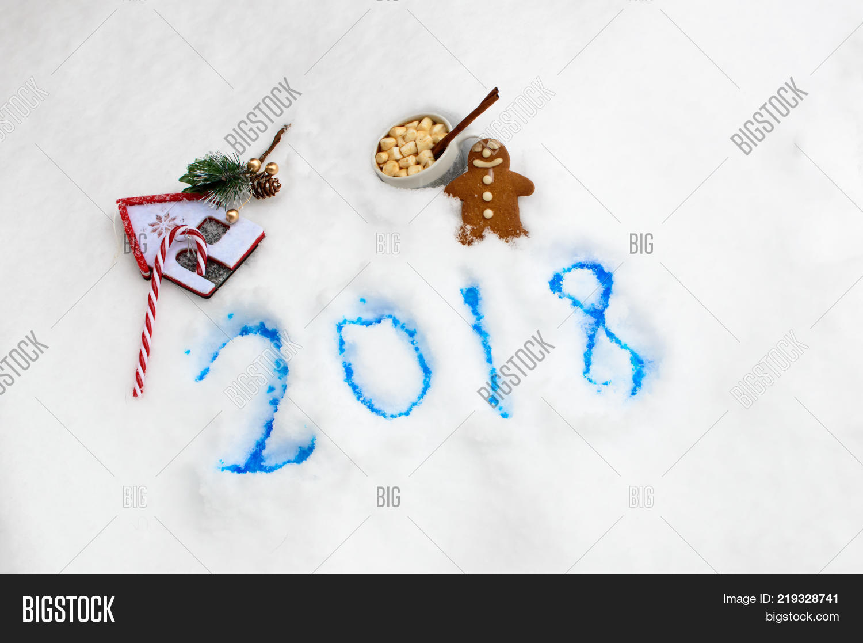 Happy New Year 2018 Image & Photo (Free Trial)   Bigstock
